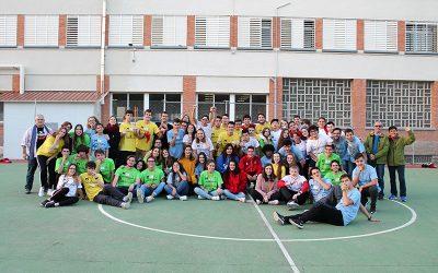 Encuentro de los jóvenes de la Federación Maín CC.JJ. Salesianos  Aragón