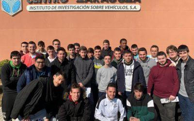 Visita técnica a las instalaciones de Centro Zaragoza en Pedrola
