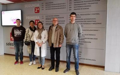 Dos alumnos polacos han realizado prácticas en Salesianos Zaragoza gracias al programa Erasmus