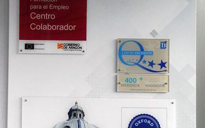 Salesianos Zaragoza luce el sello EFQM +400 por su Excelencia Educativa