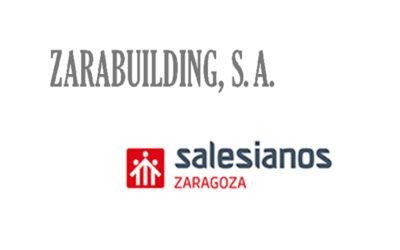 Salesianos Zaragoza renueva su acuerdo de colaboración con la empresa Zarabuilding S.A.