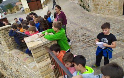 5º de Primaria en las Aulas de innovación en la naturaleza, en Cantavieja (Teruel)
